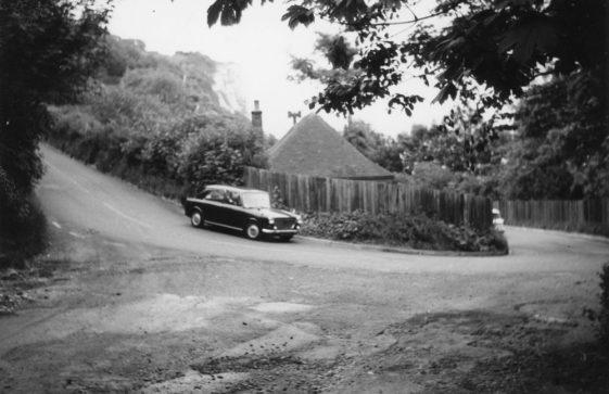 Car on Bay Hill, undated