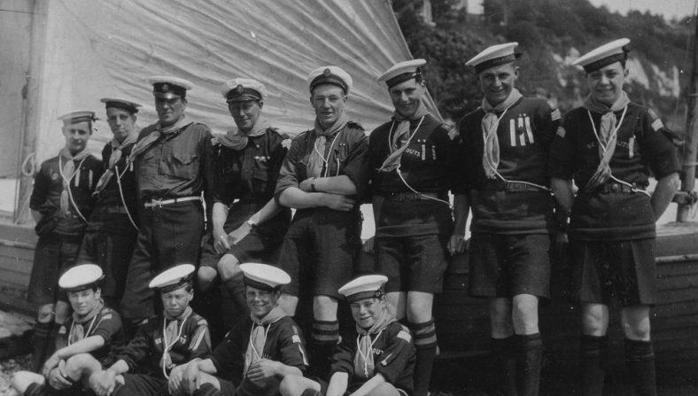St Margaret's Sea Scouts, c.1930