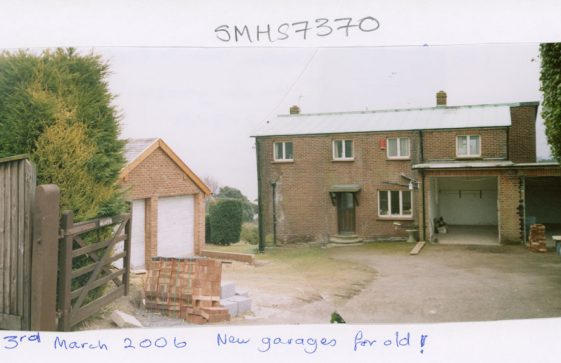 Seaton, Granville Road after haircut! 2006