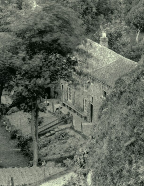Aerial view of The Green Man. St Margaret's Bay. pre WWII