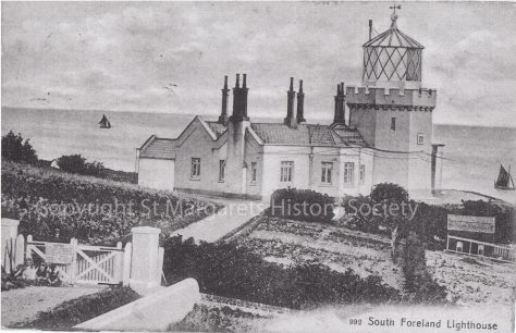 Lower South Foreland Lighthouse. c1900