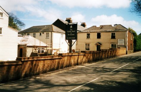Demolition of buildings at the Clyffe Hotel, to build an extension and new accommodation. 2004 - 2005