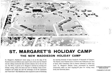 Brochure for Maddieson's Holiday Camp. 1963