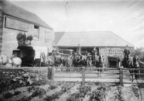 Wellard's Livery Stables, Chapel Lane. c1910