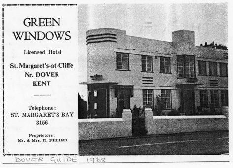 Green Windows Hotel, Sea Street 1968