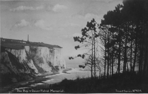 St Margaret's Bay from South Foreland. postmark 1929