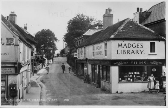 High Street and Madge's Stores. c1950