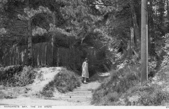Long Steps up from the Bay. c1930