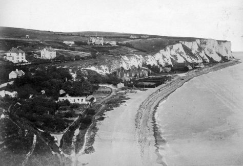 View from The Ness looking NE across the Bay taken around 1900