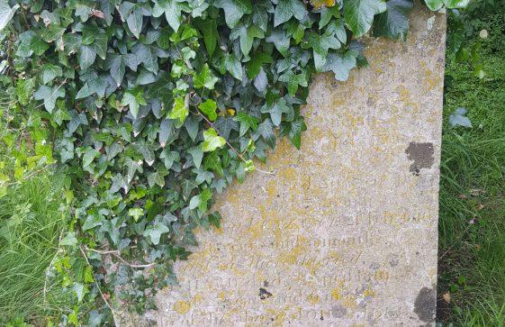 Gravestone of JELL Ann 1812; JELL Mary 1782; JELL Elizabeth 1798; JELL Elizabeth 1803; JELL Thomas 1810; JELL Richard 1810; JELL John 1824