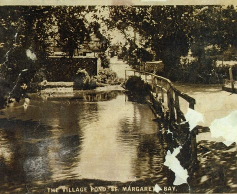 Chapel Lane pond looking towards Holly Lodge. c1930?
