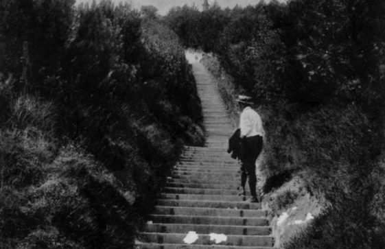 Long Steps up from the Bay. postmark 1909