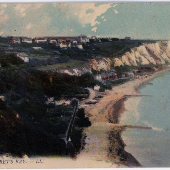 St Margaret's Bay from Ness Point. c1903