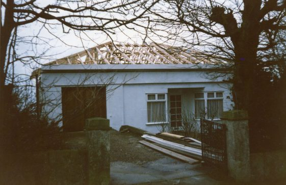 Penthouse, Salisbury Road. New roof and garage conversion. 1987