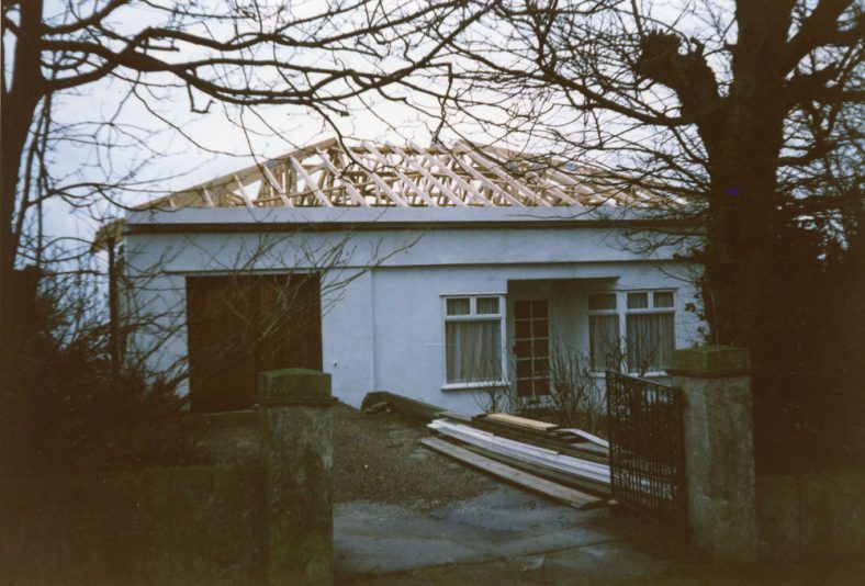 'Penthouse', Salisbury Road. New roof and garage conversion. 1987