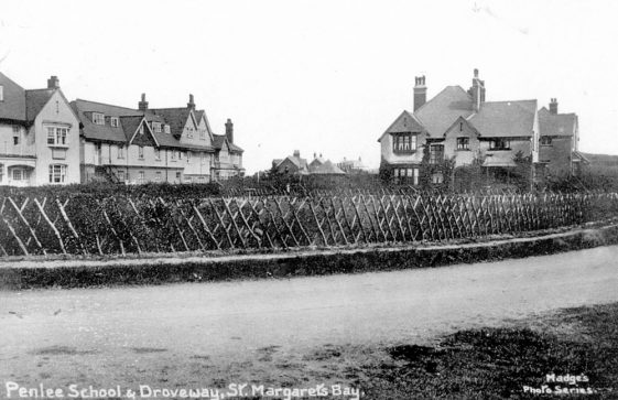 Penlee School, The Droveway. 1905