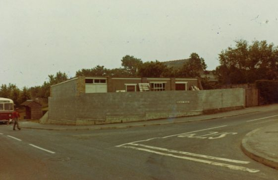 Sea Street: Clayson's Yard on the corner of Sea Street and Reach Road. c1970s