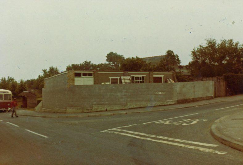 Sea Street: Clayson's Yard on the corner of Sea Street and Reach Road. c1970s