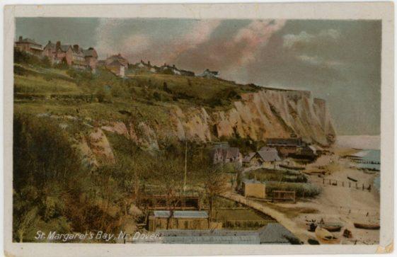 St Margaret's Bay from Ness Point. postmark 1917