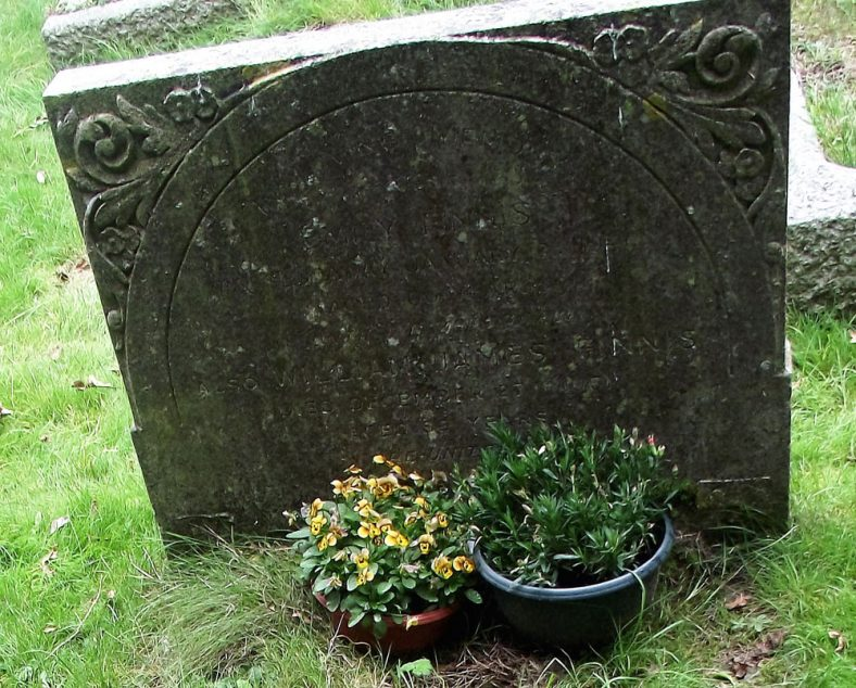 Gravestone of FINNIS Emily 1946; FINNIS William James 1961 | Dawn Sedgwick