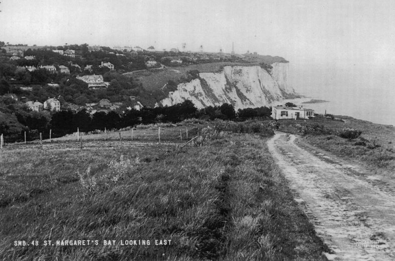 St Margaret's Bay from South Foreland. Late 1950s