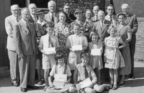 Prize Day at the National School, St Margaret's at Cliffe. c1950