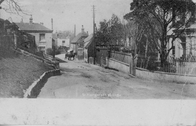 The High Street, St. Margaret's-at-Cliffe. postmark 1903