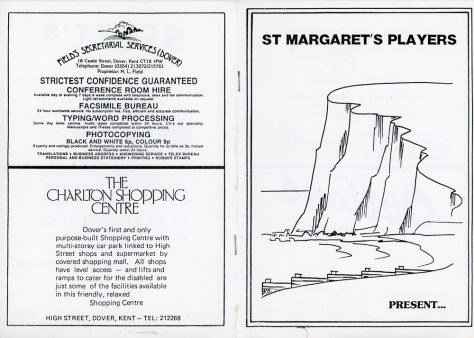 Programme of St Margaret's Players pantomime 'The Grand Old Duke of York'. unknown date