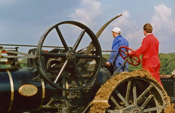 Ploughing Match at East Valley Farm, 25 September 2001