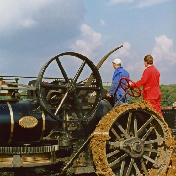 Photographs taken during a Ploughing Match at East Valley Farm, 25 September 2001