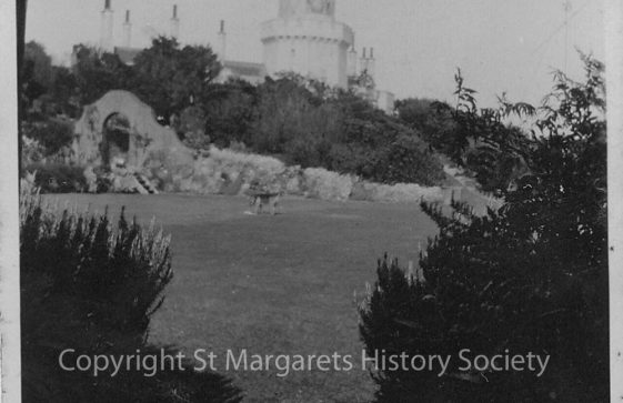 Lower South Foreland Lighthouse and garden. 1930