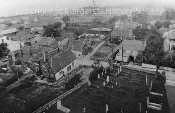 From St Margaret's church tower towards NE. c 1908