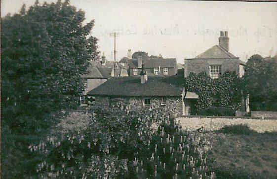 Marine Cottage, Chapel Lane. c1920 - 1930; Station Road