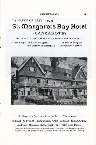 'St Margaret's Visitors Guide' by John Bavington Jones. 1907, pages 21 - 30