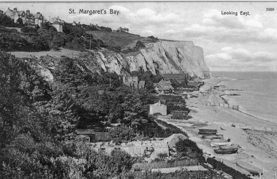 St Margaret;s Bay from Ness Point. post 1907