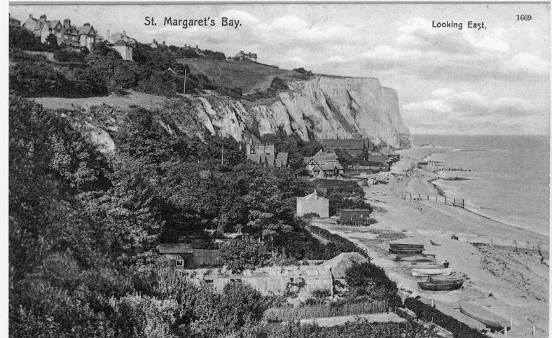 St Margaret's Bay from Ness Point. post 1907