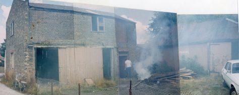 Demolition of Wellard's Livery Stables (Jenner's Garage), Chapel Lane. 1986