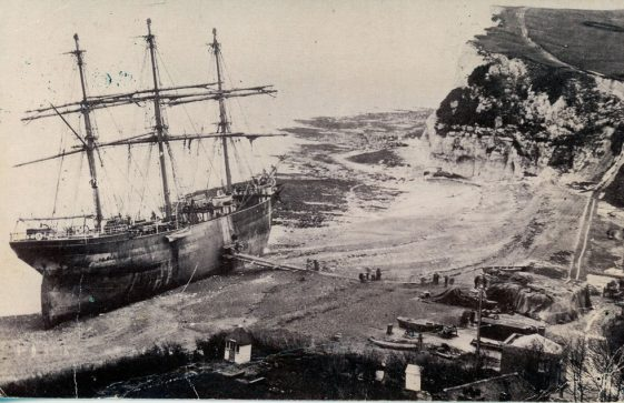 A Shipwreck in St. Margaret's Bay, The Firth of Cromarty. 1894
