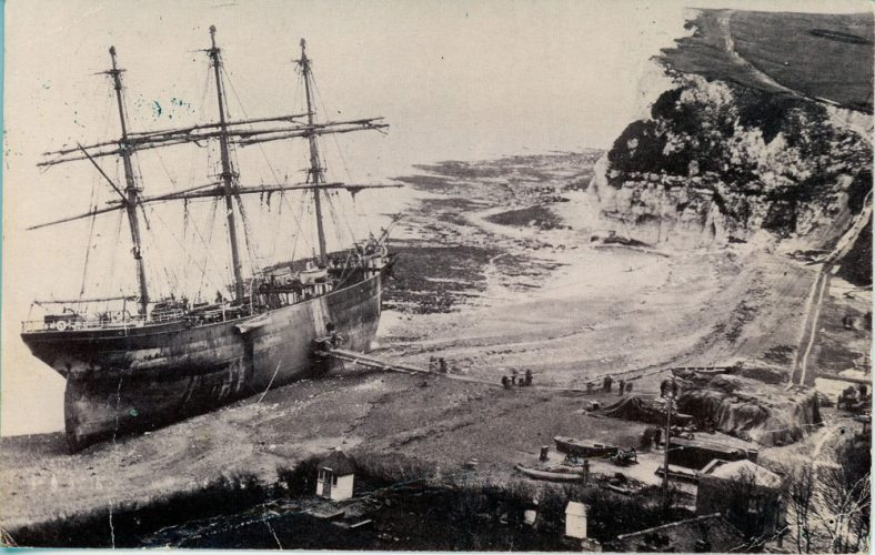Beached Firth of Cromarty. 1894