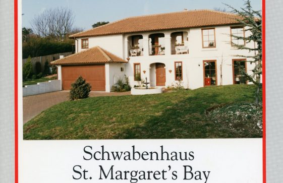 Schwabenhaus, Granville Road, sale catalogue. 1991