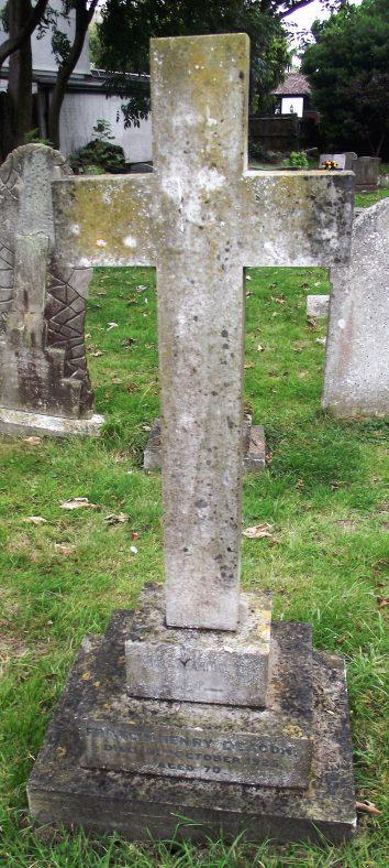 Gravestone of DEACON Francis Henry 1925