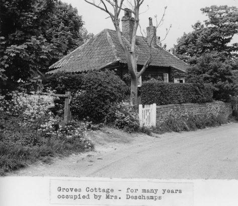Groves Cottage, Chapel Lane. Undated
