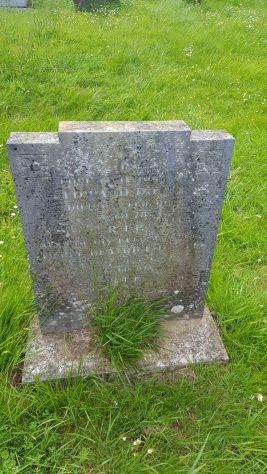 Gravestone of DOYLE Edward 1973; DOYLE Ethel Beatrice 1974