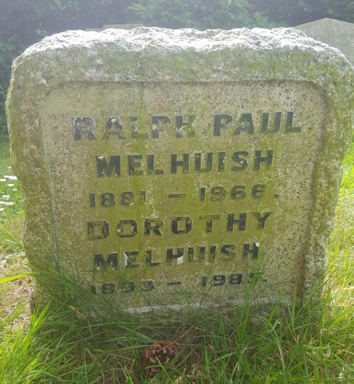 Gravestone of MELHUISH Ralph Paul 1966; MELHUISH Dorothy 1985 | Dawn Sedgwick