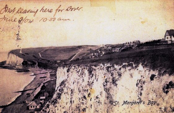 St Margaret's Bay from The Leas. c1904