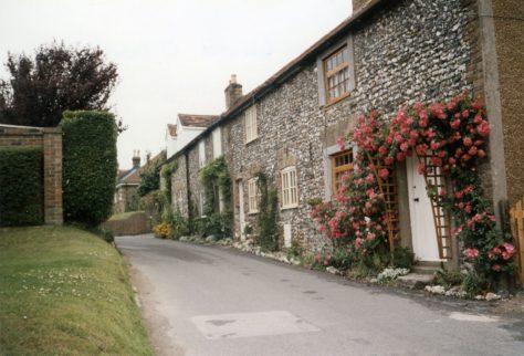 Chapel Cottages Chapel Lane. 1990