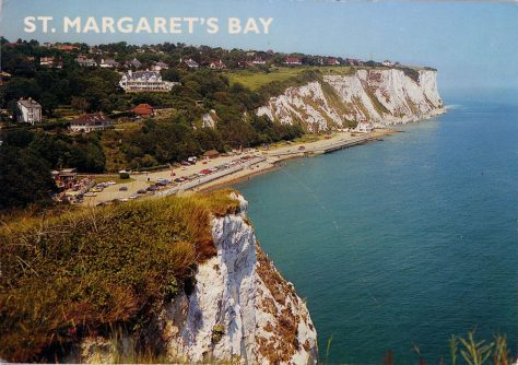 St Margaret's Bay from Ness Point. 2000
