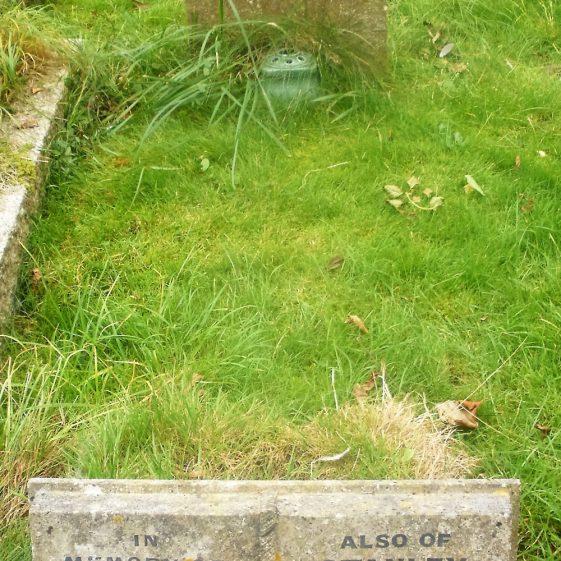 Gravestone of CHAPMAN George William 1949; CHAPMAN Ethel Ellen 1960; WATSON Maud Grace 1973; WATSON Stanley Arthur 1997 | Dawn Sedgwick