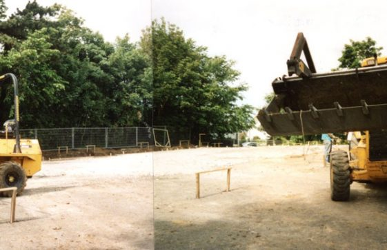 Village Hall site and building preparation. 2001