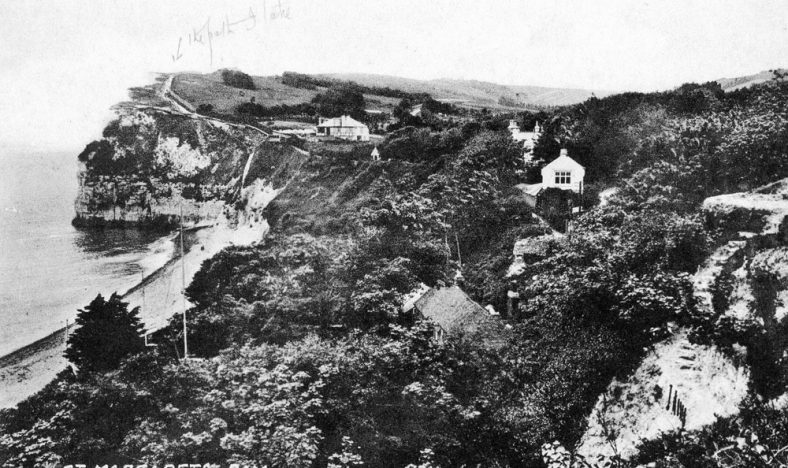 St Margaret's Bay from The Leas. c1930